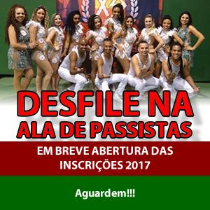 Brilhe com a X-9 Paulistana no próximo Carnaval!!!