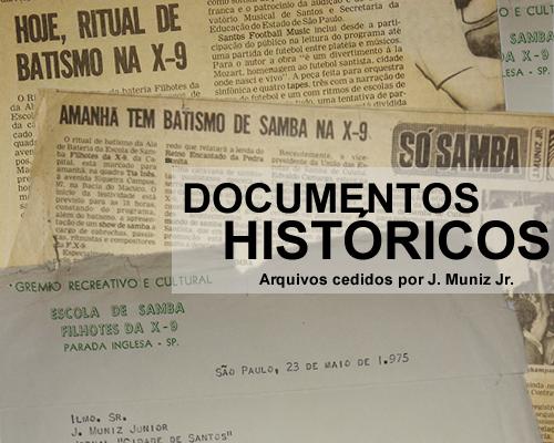Clique e confira os documentos históricos da X-9 Paulistana