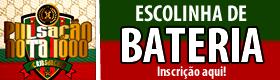 FAÇA AQUI SUA INSCRIÇÃO PARA ESCOLINHA DE BATERIA 2018!